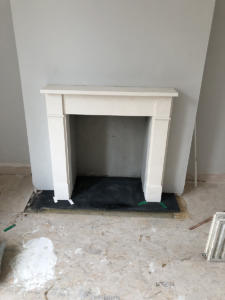Reconstruction of Fireplace in apartment